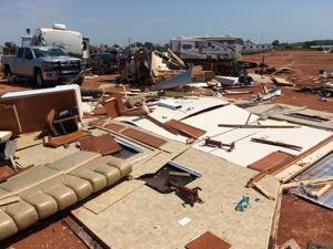 North Dakota RV park residents didn't hear warning sirens before tornado