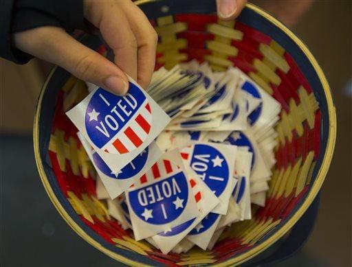 I voted stock image