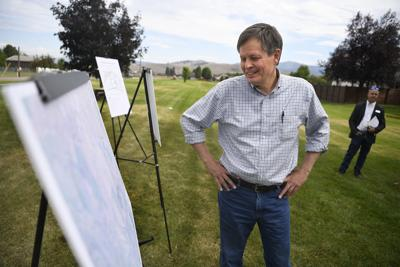 Steve Daines in Missoula