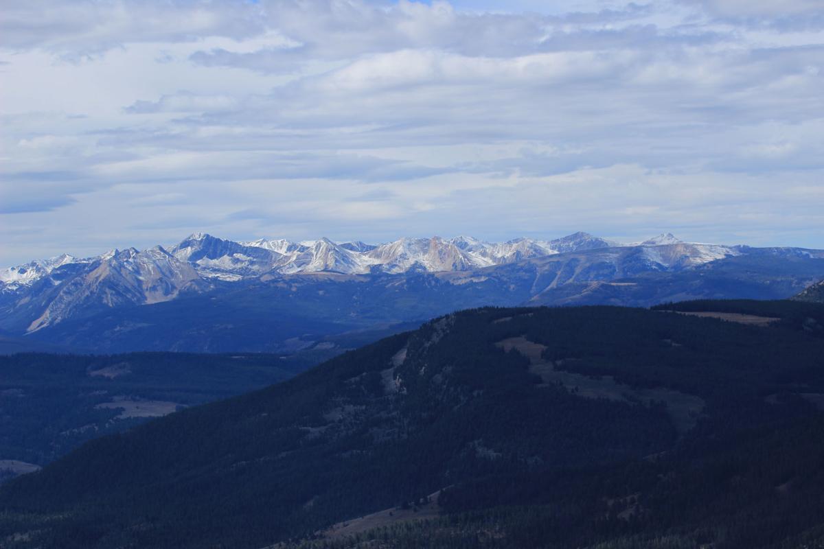 View from Ramshorn Peak