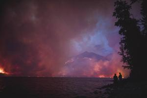 Glacier park records second-busiest year, despite fires