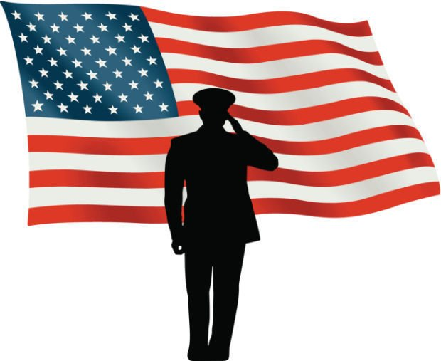 veterans day stockimage veteran soldier salute usa military