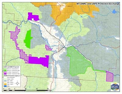 Forest Fire Map Montana.Dnrc Lolo National Forest Propose Changes To Firefighting