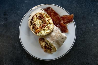 Market on Front breakfast burrito