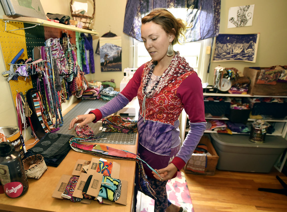 7bb1345ea62 Internet allows local artist to sell upcycled clothing around the world