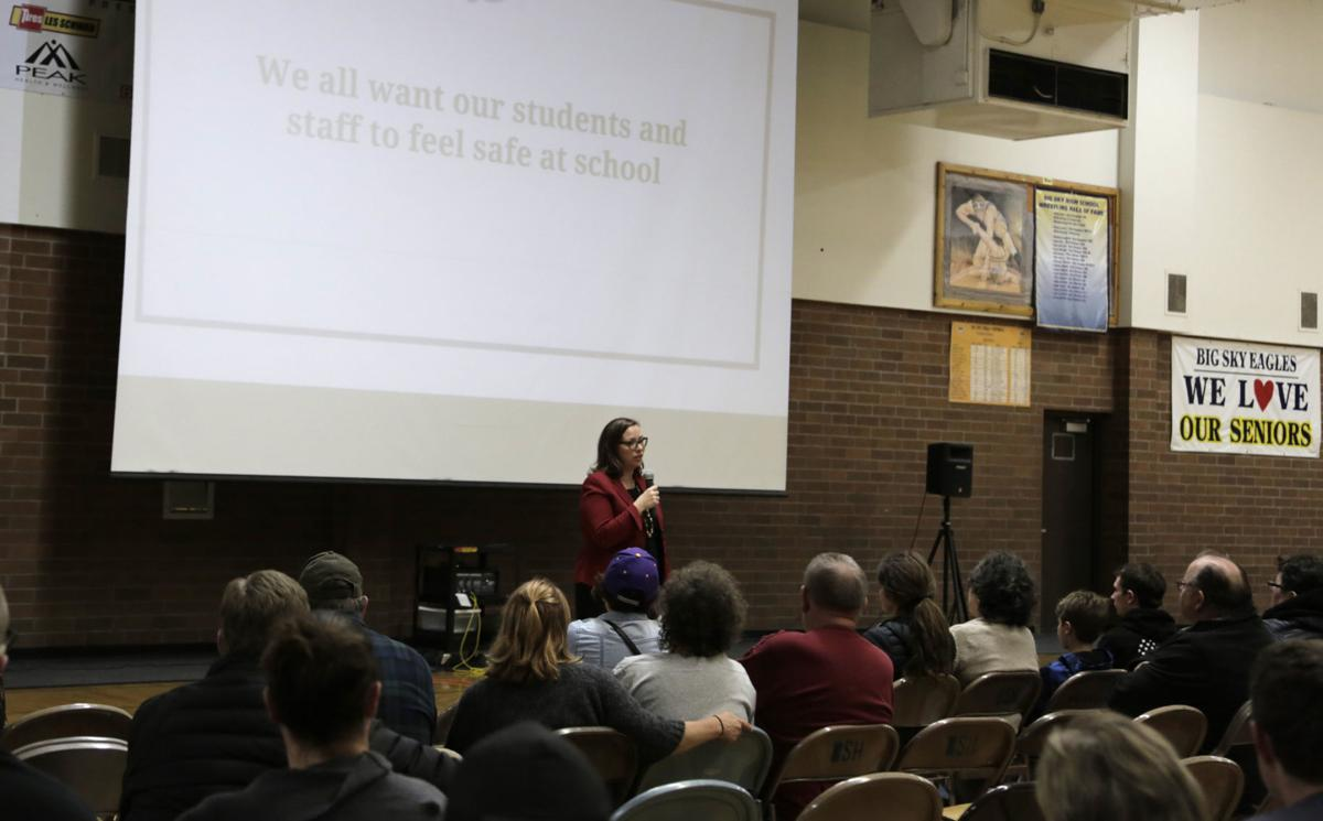 Big Sky High School Community Forum