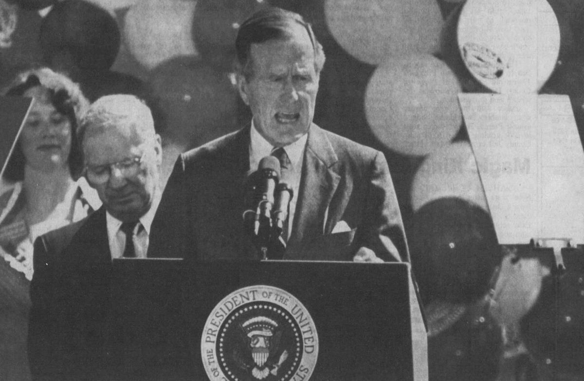 George H.W. Bush — 1989