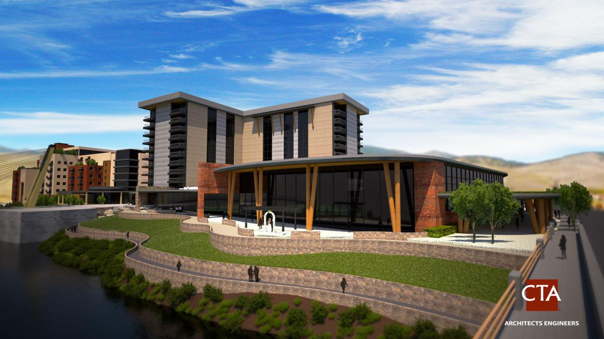Riverfront Triangle renderings