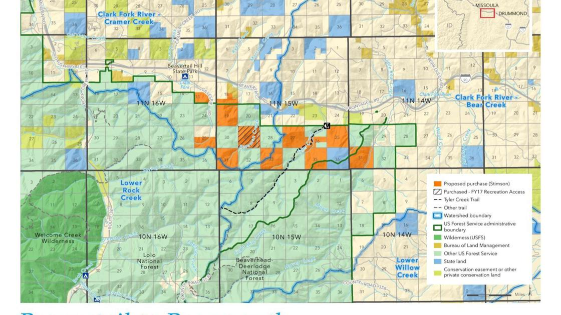 Stimson transfers land to Lolo Forest near Beavertail