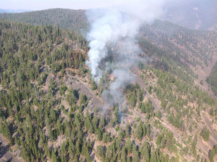 West Alder fire