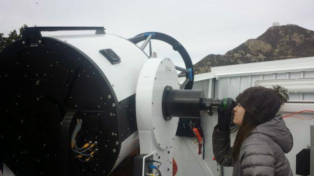 UM's new telescope searching the stars