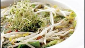 Pho flavor - Traditional Vietnamese soup can be prepared with or without beef