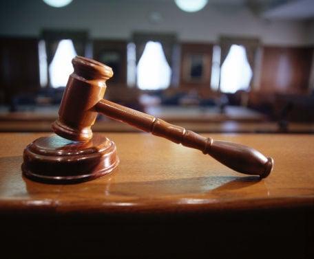 Court gavel stockimage