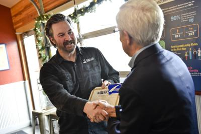 Blackfoot River Brewing Co.'s Nicholas Balcken receives his certified national brewing credential