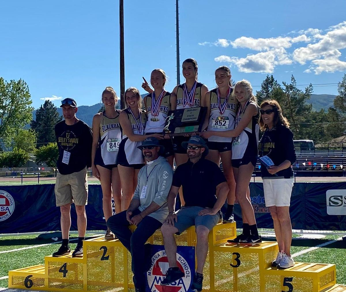 Seeley-Swan, girls state team champions
