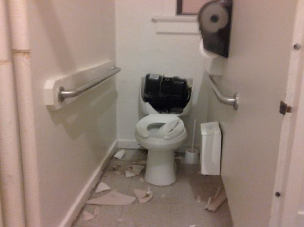 No One Hurt When Toilet Explodes At Stillwater County