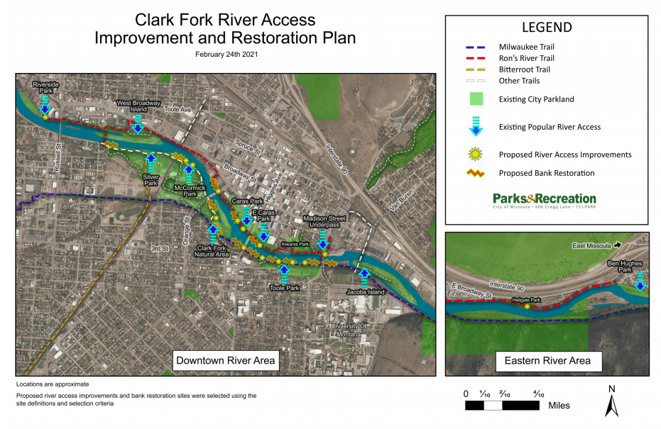 Clark Fork River Access Improvement and Restoration Plan