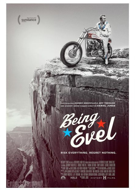 Poster promotes new 'Being Evel' documentary
