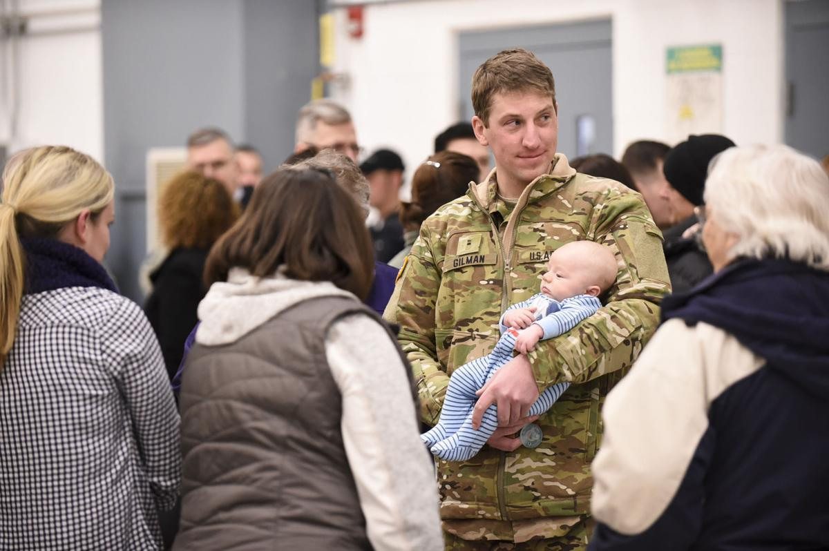 Montana National Guard deployment ceremony