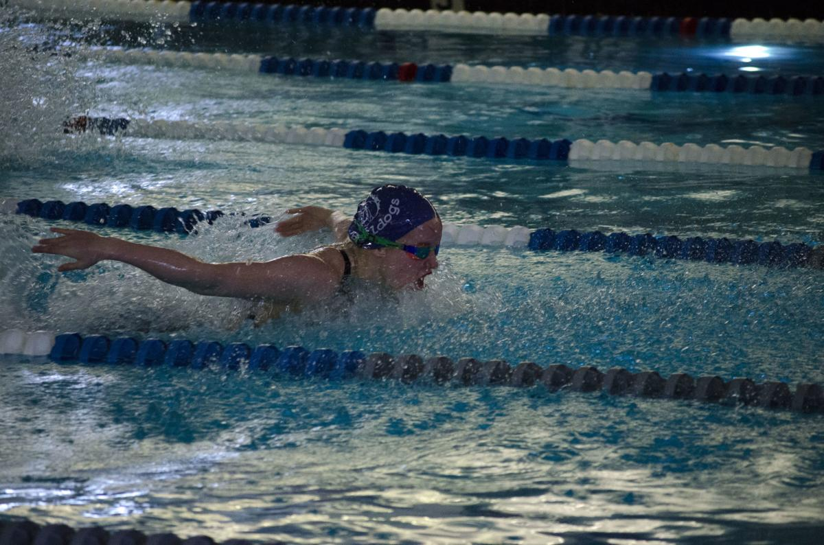 Catherine Russo 100 butterfly