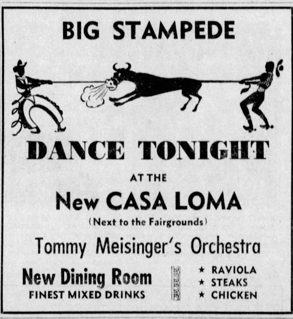 Casa Loma ad 1947