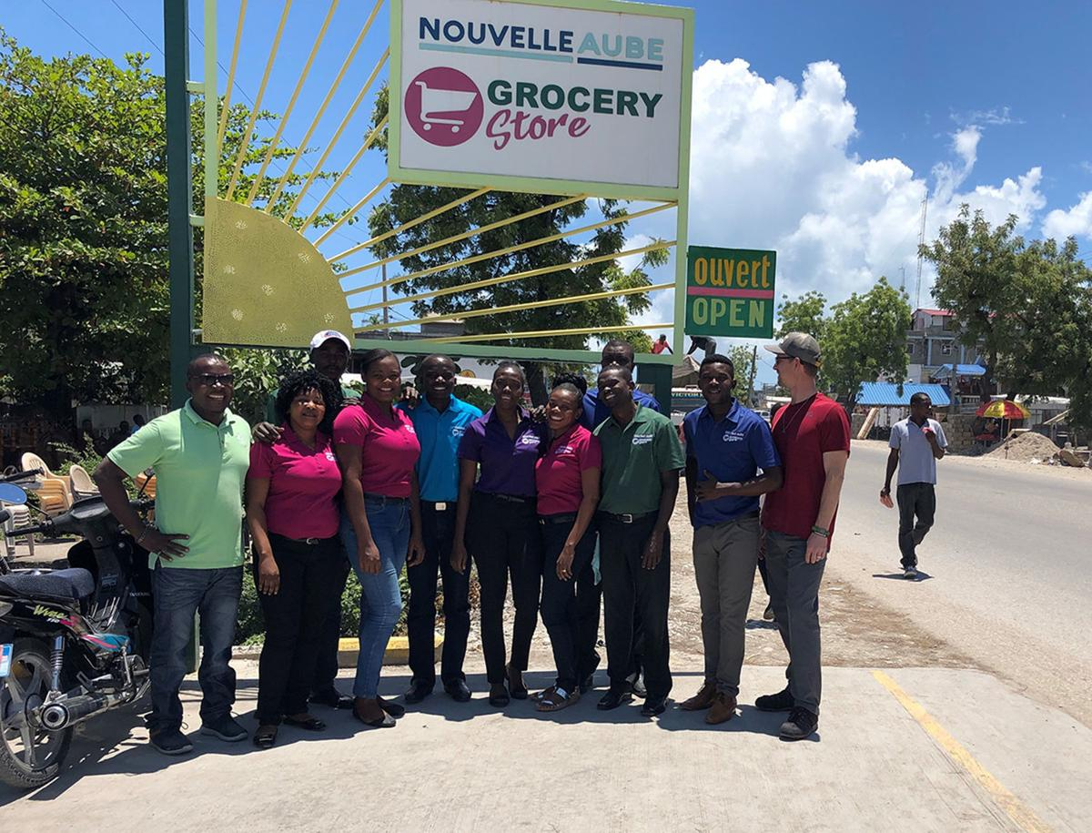 Haiti project: Group photo