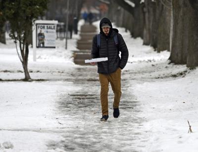 Snow Sidewalks