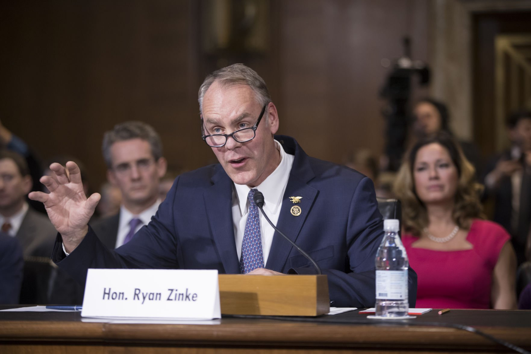 Zinke outlines goals as Interior secretary confirmation hearing