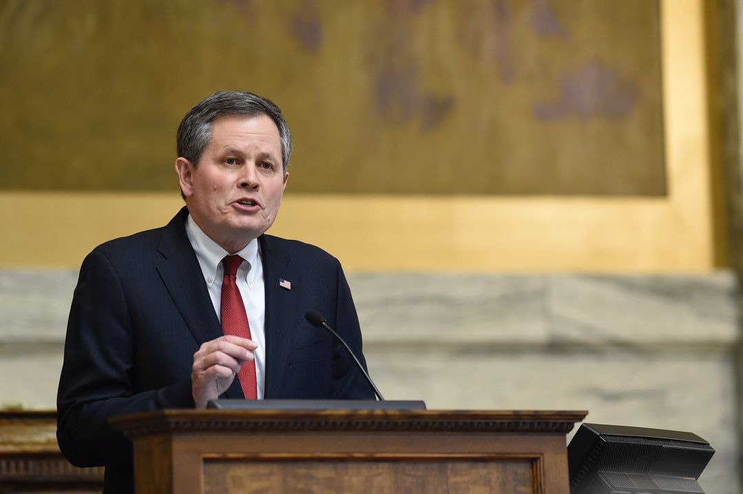Daines addresses House