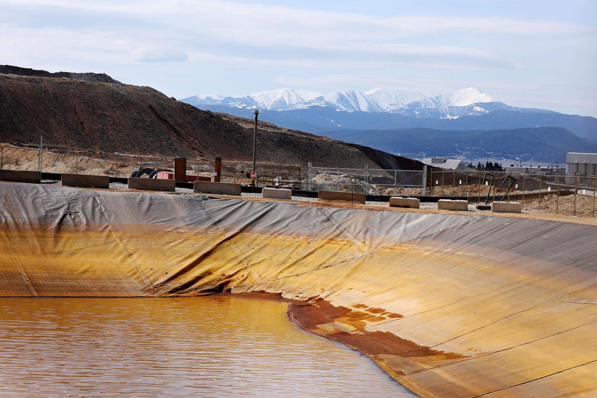 Berkeley Pit water and contaminated Horseshoe Bend water