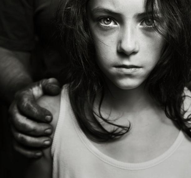child abuse stockimage
