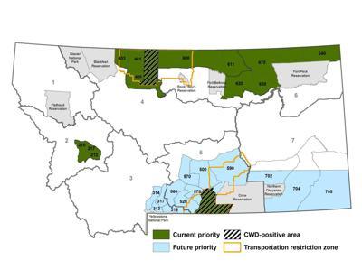 CWD map