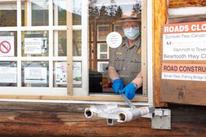Yellowstone opens North Entrance to motorists traveling to Silver Gate, Cooke City