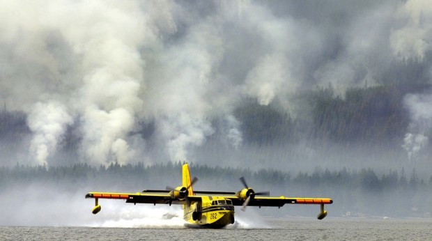 Wildfires Tanker Planes