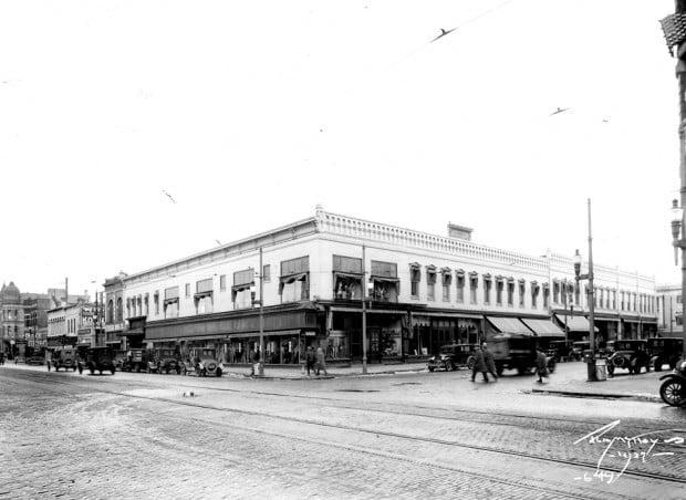 Missoula Mercantile in 1927
