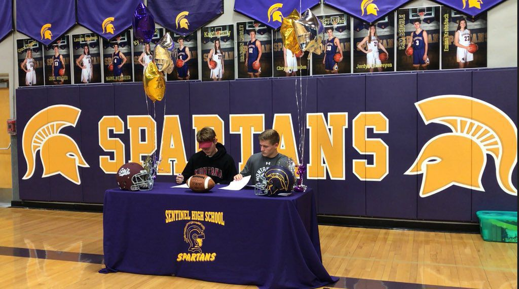 Germer, Morley signing day