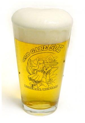 Old Gabe Pint Glass