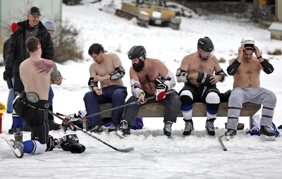Real Grassroots Hockey At Seeley Lake Pond Hockey Tournament