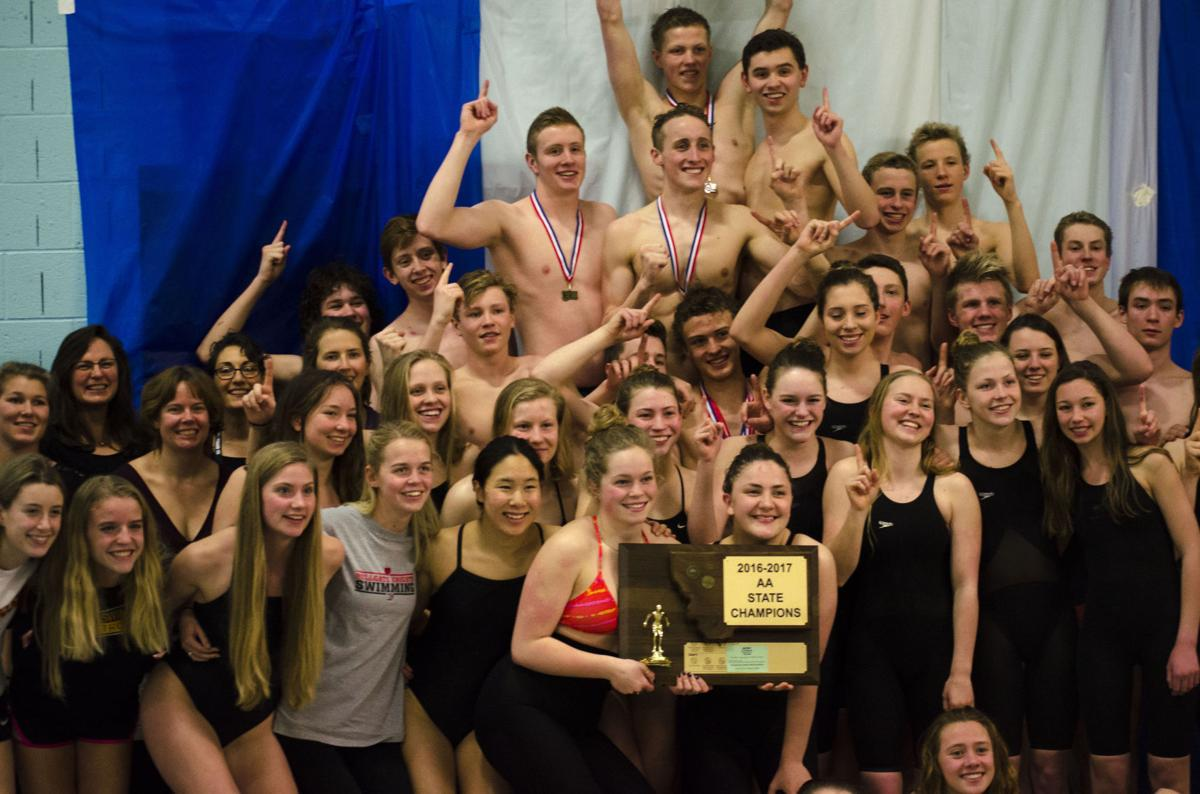Missoula Hellgate Knights 4-peat at state swimming