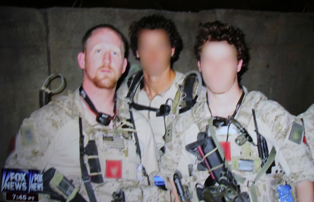 Out Take3; Rob O'Neill with fellow Navy SEALS.