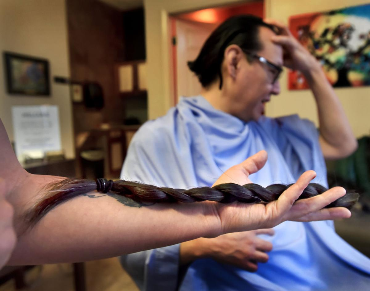 Missoula Man Cuts Braid For Locks Of Love And Cancer Victims In - Haircut missoula