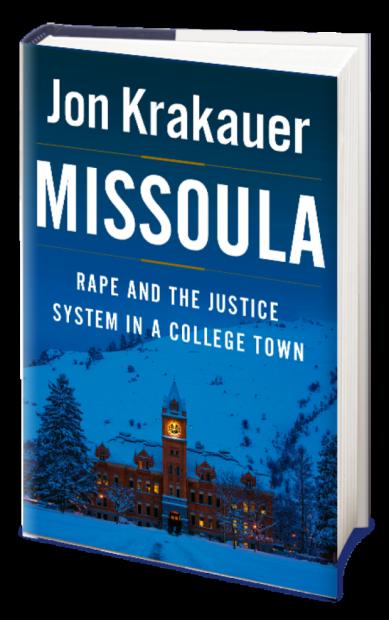 Jon Krakauer book cover Missoula