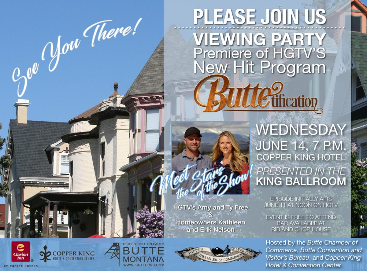 """View party for """"Buttetification"""""""