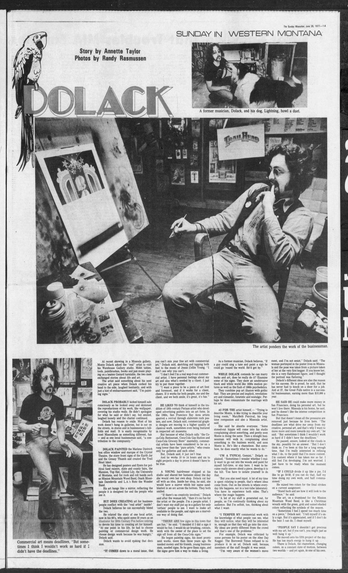 Dolack 1976 feature