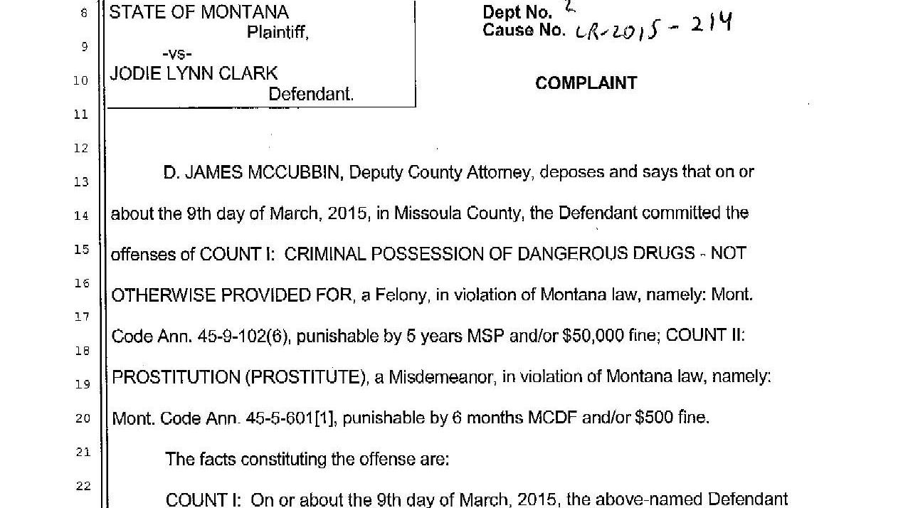 Washington Woman Charged With Prostitution At Missoula Motel 6