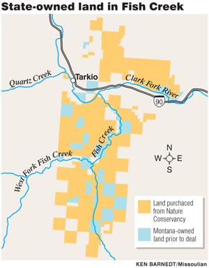 Fish Creek state land