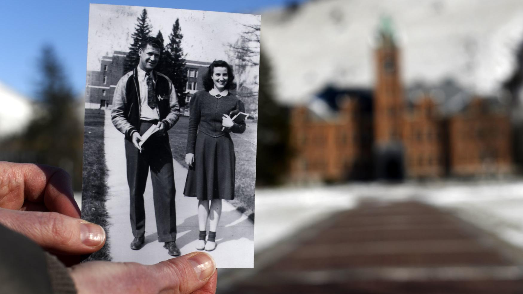 Affairs of the heart: University of Montana alum lost her husband to war but her love never died