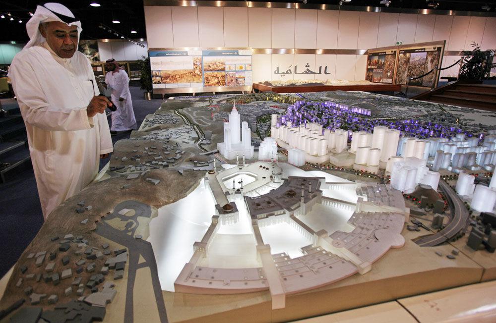 Mideast Saudi Remaking Mecca
