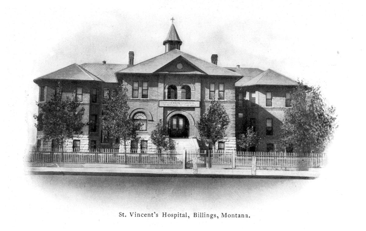 St. Vincent Hospital, circa 1910s