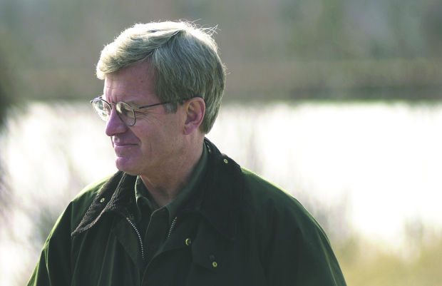 Baucus visits the Milltown Dam
